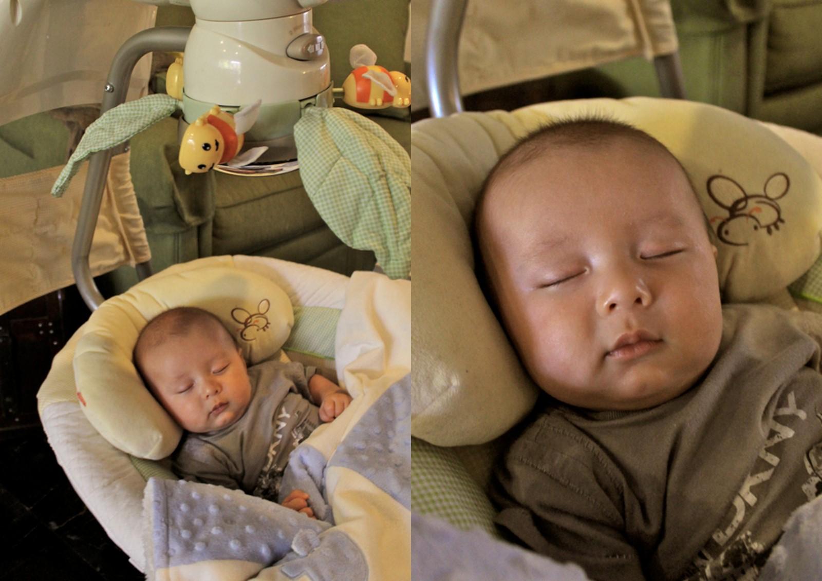 Baby Swing Amp Bouncer Chuzai ☆ Living