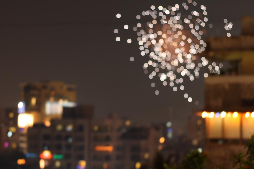 Happy Diwali ☆ Bokeh Photos of Diwali Lights - Chuzai ☆ Living