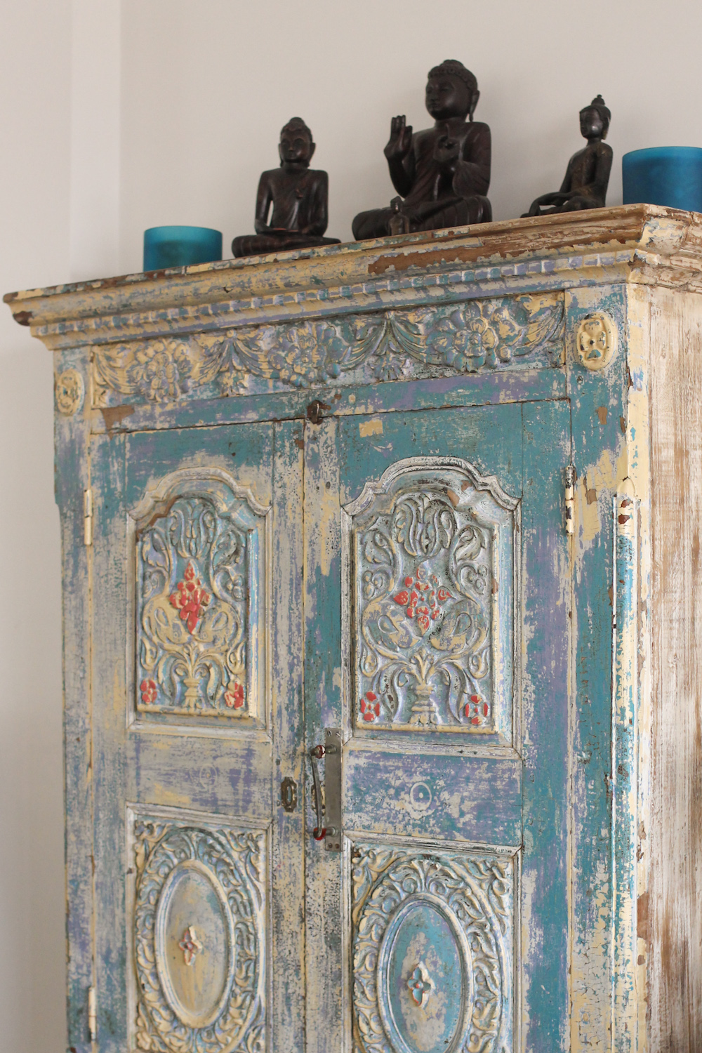 Hand Painted Furniture Indian