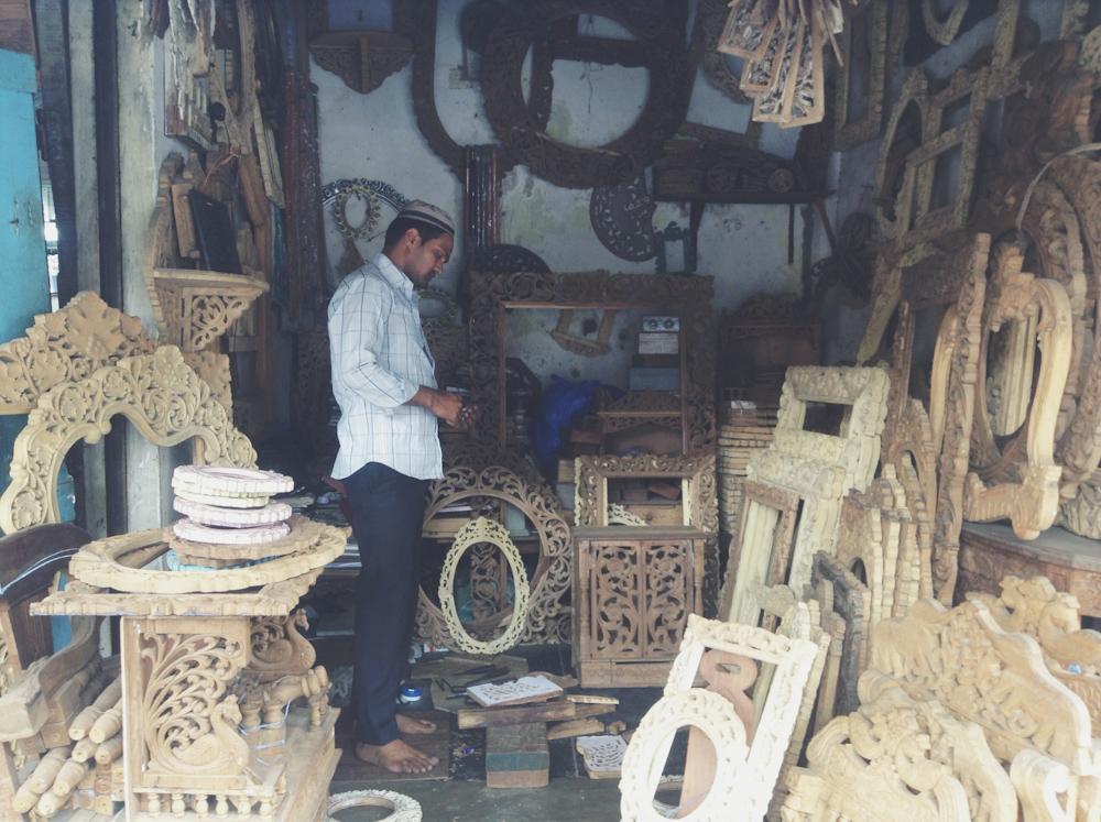 Wood Carved Frame Shops In Mumbai Chuzai Living