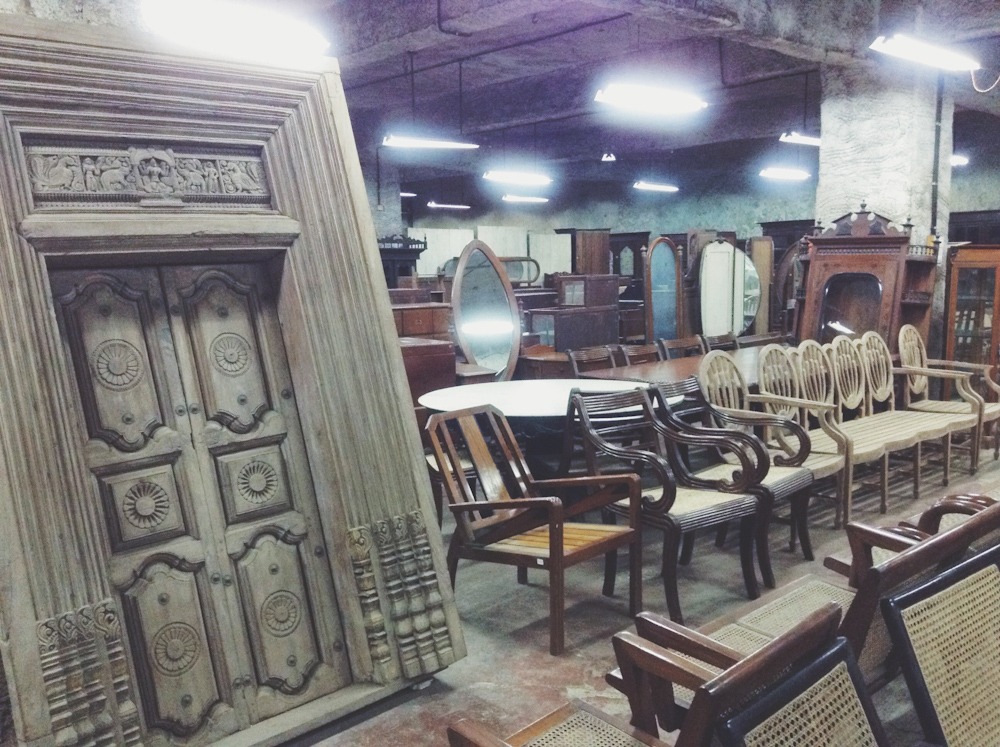Friday Finds ☆ The Raj Company ☆ Antique Furniture Shop In