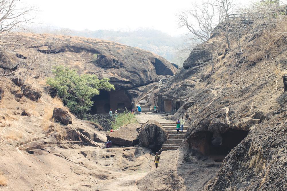 Kanheri Caves Sanjay Gandhi National Park Chuzai Living