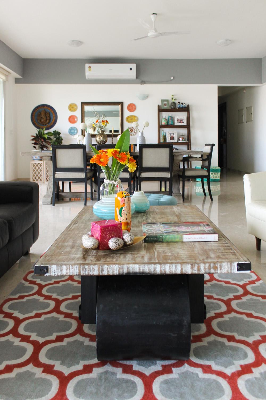 Modern Rustic Indian Design Home